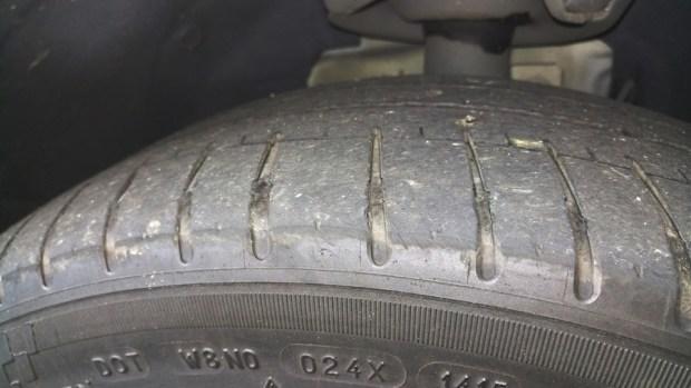 輪胎上的數字,你知道是什麼嗎? IMAG0897