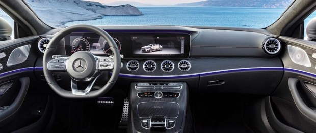 全新第三代 Mercedes-Benz CLS Coupe 正式下線 interior