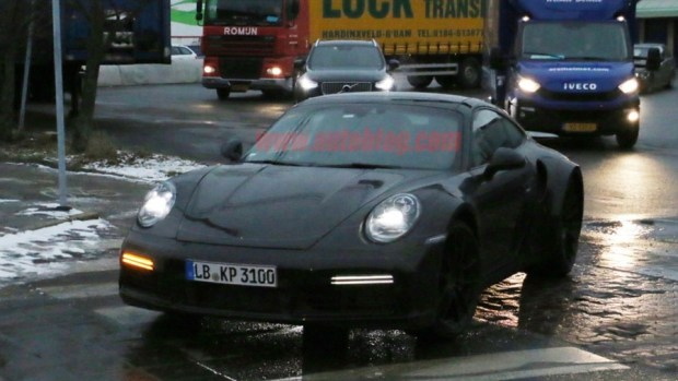 新一代 Porsche 911 Turbo 間諜照曝光 porsche-992-turbo-13-copy-1