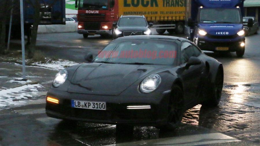新一代 Porsche 911 Turbo 間諜照曝光 porsche-992-turbo-13-copy-1