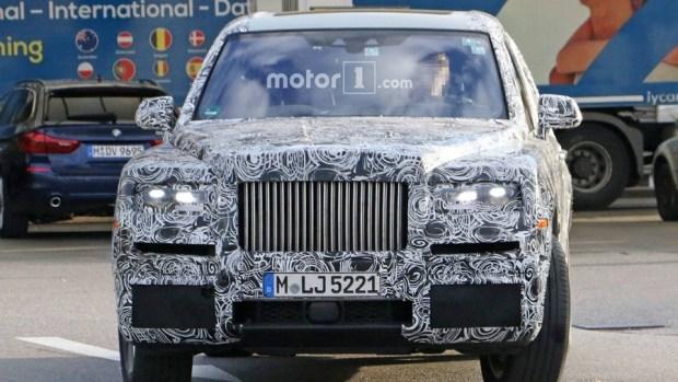 Rolls-Royce 首輛 SUV 車型將於今年亮相 rolls-royce-cullinan-spy-photos-inside-and-out-2