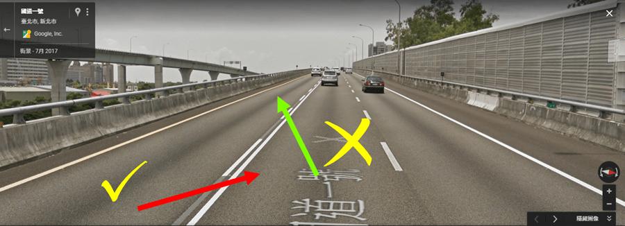 老司機可能也不懂,路面標線必看,以免被開罰! %E7%99%BD%E8%99%9B%E5%AF%A6%E7%B7%9A3