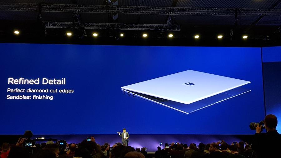 [MWC 2018] 華為正式發表 MateBook X Pro 及 MediaPad M5/M5 Pro 20180225_141231