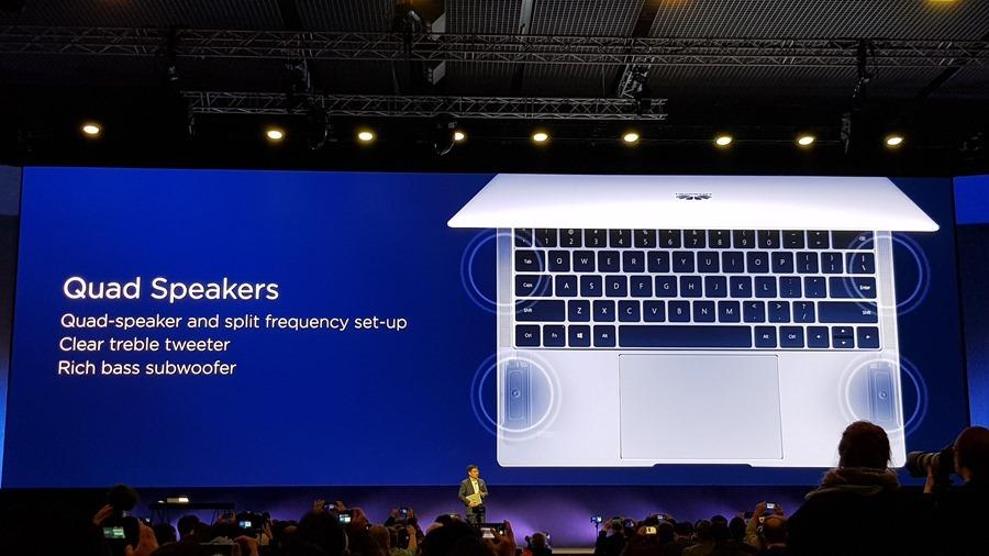 [MWC 2018] 華為正式發表 MateBook X Pro 及 MediaPad M5/M5 Pro 20180225_141601