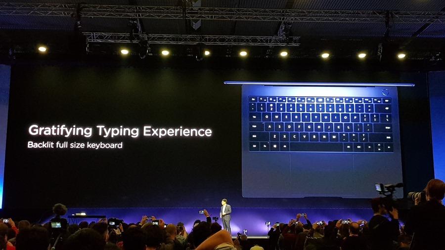 [MWC 2018] 華為正式發表 MateBook X Pro 及 MediaPad M5/M5 Pro 20180225_141938