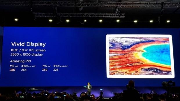 [MWC 2018] 華為正式發表 MateBook X Pro 及 MediaPad M5/M5 Pro 20180225_143335