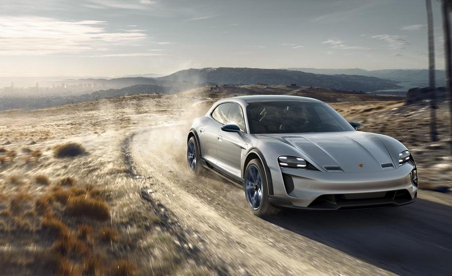 特斯拉要小心啦!保時捷電動車充電快6倍,性能更是強勁 Porsche-Mission-E-Cross-Turismo-concept-LeadGallery