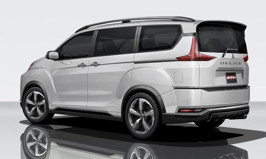 三菱得利卡 Delica,大家熟悉的商用車 2018-mitsubishi-delica-previewed-by-tokyo-bound-concept-120082_1