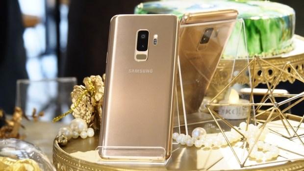 Galaxy S9+ 推出「晨漾金」新色,「金」得有質感! 5284079