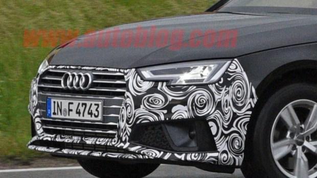 Audi A4 小改款被捕獲,外觀變化不大 audi-a4-facelift-5-1