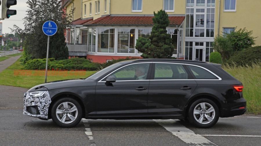 Audi A4 小改款被捕獲,外觀變化不大 audi-a4-facelift-7-1