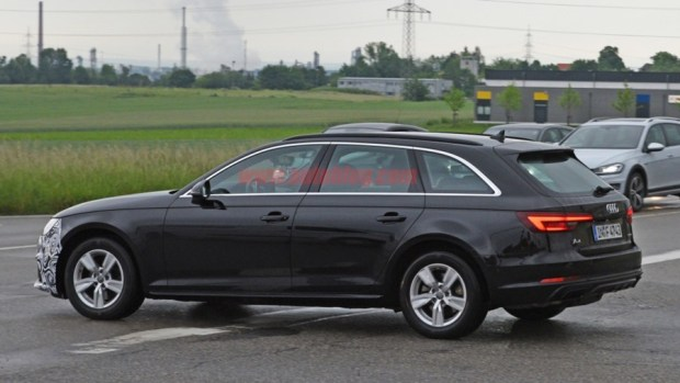 Audi A4 小改款被捕獲,外觀變化不大 audi-a4-facelift-9-1