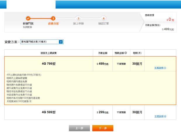 最後一天!中華電信 299/499 方案線上申請教學 (新辦/續約/NP) new_3