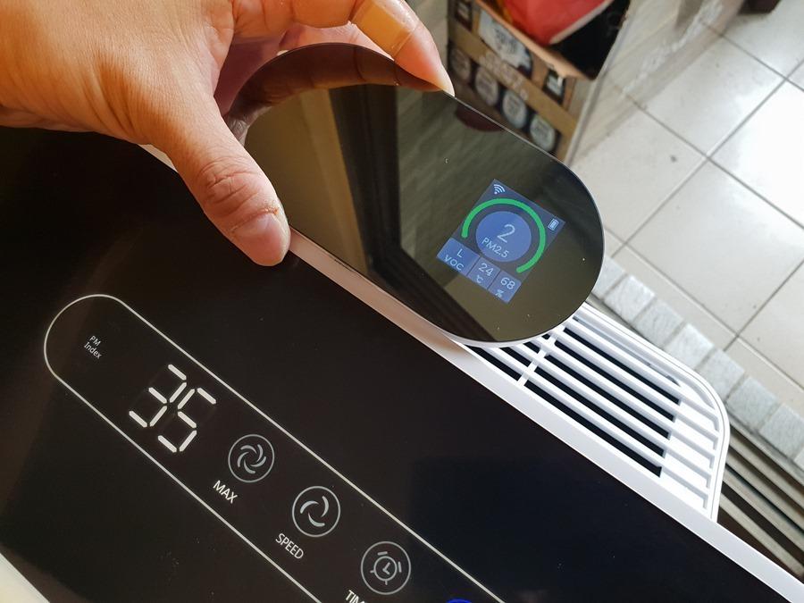 [評測] 海爾 AP450(大H) 除甲醛空氣清淨機,超厚實濾網幫你快速過濾髒空氣 20180421_152920