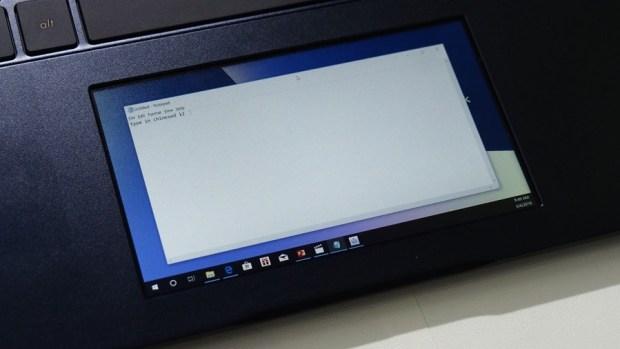 華碩「雙螢幕」筆電 ZenBook Pro 15,把觸控板變螢幕 6064255