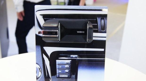 合錦光電展出車用藍牙手勢控制器,用手勢輕鬆控制車載多媒體系統 DSC9957