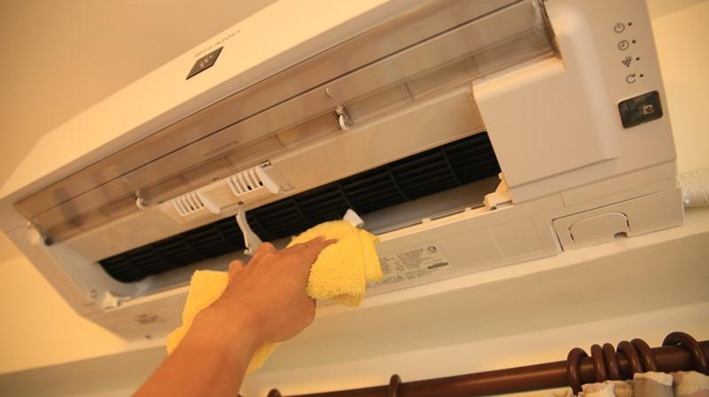一機抵四台,夏普自動除菌變頻冷暖分離式空調開箱 (AY-40VAMH-W/AE-40VAMH) image033