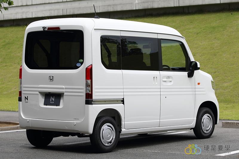 麵包車新選擇,Honda N-Van 搶攻日本輕型商用車市場 07_o