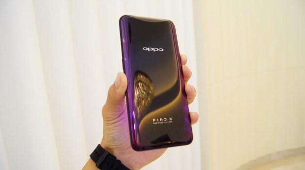 極致工藝完美展現,真正全螢幕手機 OPPO Find X DSC1020
