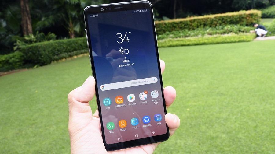 [評測] 好拍、好握、大螢幕!Galaxy A8 Star 全新專業打光模式,自拍美肌更方便! 8034806