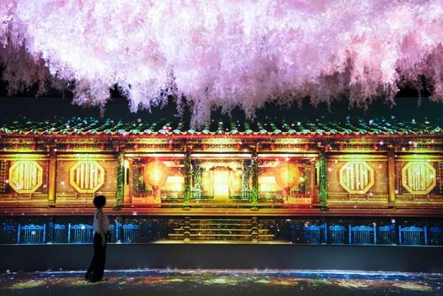 演員躍身「光雕魔法師」,村松亮太郎用科技展現如夢似幻的光影魅力 20180701-DSC06959_0705_trim2