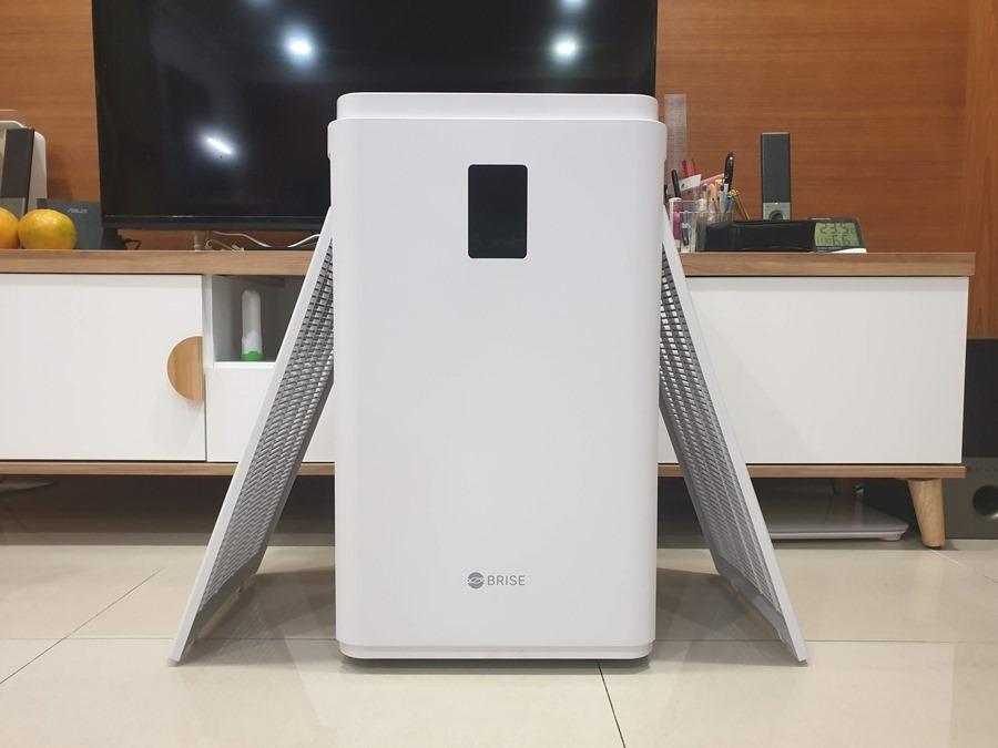 評測/BRISE C600 空氣清淨機:30坪以下空間的最佳選擇 20181128_233140