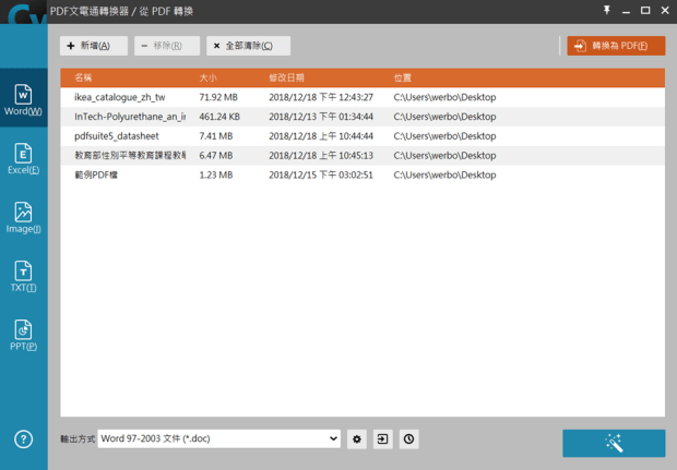 PDF文電通 5 專業版:全能 PDF 文書編輯處理器,編修、轉檔、製作一套搞定 image021