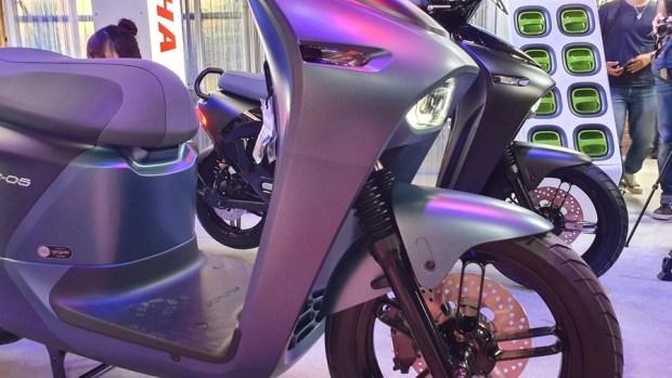 YAMAHA、Gogoro 合作首款電動機車 EC-05 亮相!售價 99,800 元可領補助 20190627_153704