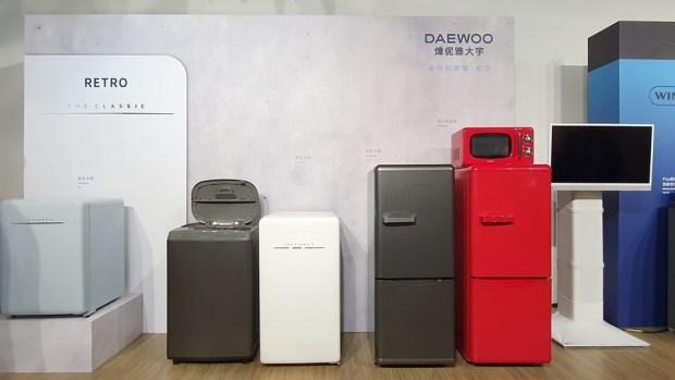 韓流來襲,DAEWOO 煒伲雅大宇在台推出世界首創「壁掛式洗衣機」,體積超迷你隨處好安裝 20190723_135804