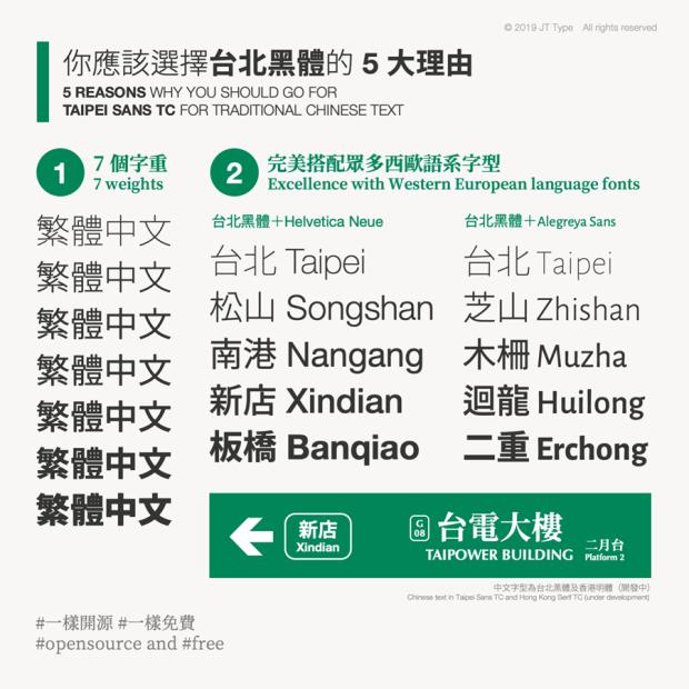 繁體中文字體「台北黑體」免費開源下載,更適合印刷,個人/商業皆可使用 unnamed-2-1