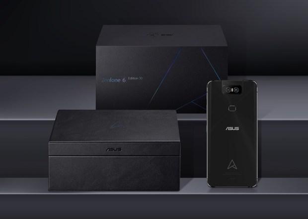 華碩推出 ZenFone 6 30 周年限定版,記憶體直升 12GB,還有好多好禮! zenfone-6-30-edition-3