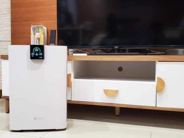 [實測] BRISE C360 空氣清淨機:不只防空汙還抗流感,安靜、每月電費不到15元 20191026_163245