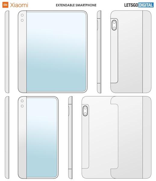 小米「可伸縮螢幕」專利核准,輕輕一拉螢幕面積翻倍大 20191217145605_5430