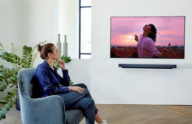 CES 2020:LG 推出多款 OLED 電視機型,亮相 8K/4K NanoCell LCD 奈米電視 LG-OLED-TV_WX-Cinema