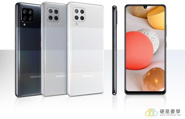 [評測]三星最好入手的平價 5G 手機來了!Galaxy A42 5G 搭載4+1鏡頭、5000mAh超大電量讓你爽用一整天 tw-feature-a-glossy-back-that-s-comfortable-to-hold-329649194