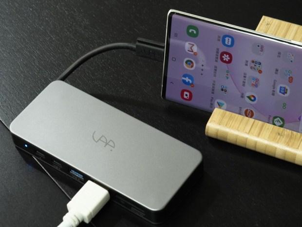 SSD + USB HUB 二合一,SAP SSD 集線器是你行動工作好夥伴! 6020109
