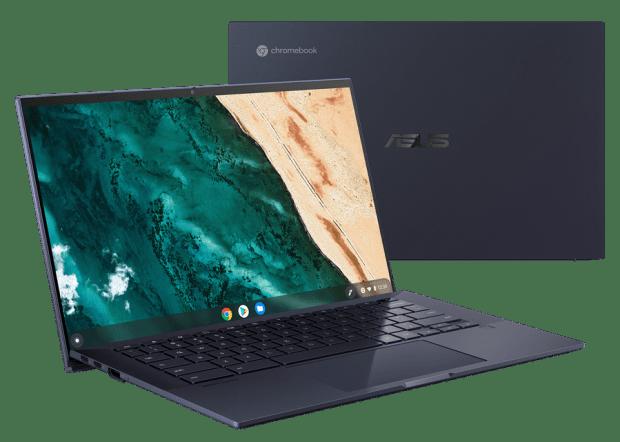 [CES 2021] 華碩推出多款全新筆電,內建多螢幕應用更多元;隨身投影機輕鬆爽投120吋畫面 ASUS-Chromebook-CX9-CX9400