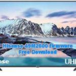Hisense 49M2600 Firmware Free Download