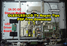 OLED/LED/LCD TV Repair Tips PDF Free Download