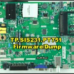 TP.SIS231.PT751 Firmware/Dump Free Download