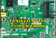TP.SIS231.PT751 Firmware/Dump Free Download