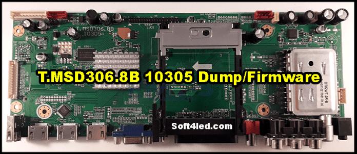 T.MSD306.8B 10305 Dump/Firmware
