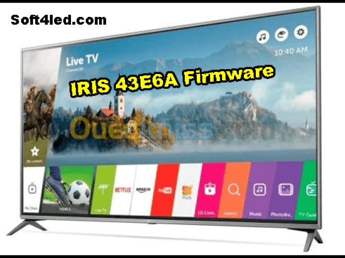 IRIS 43E6A Firmware/Software Free Download