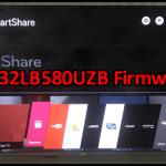 LG 32LB580UZB Firmware Free Download
