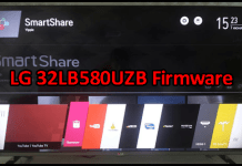 LG 32LB580UZB Firmware Free Download