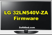 LG 32LN540V-ZA Firmware Free Download