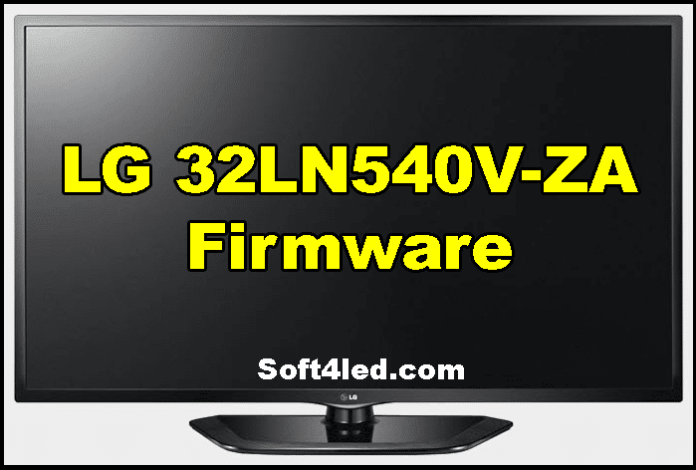 LG 32LN540V-ZA Firmware Free Download