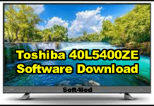 Toshiba 40L5400ZE Software Download
