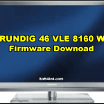 GRUNDIG 46 VLE 8160 WL Firmware Software Free Download
