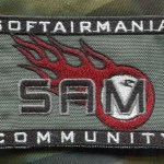 Patch Rettangolare SAM Standard - Fronte